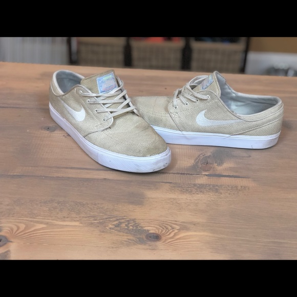 on sale outlet authentic Nike Shoes | Sb Zoom Stefan Janoski Canvas Fossil Sail | Poshmark